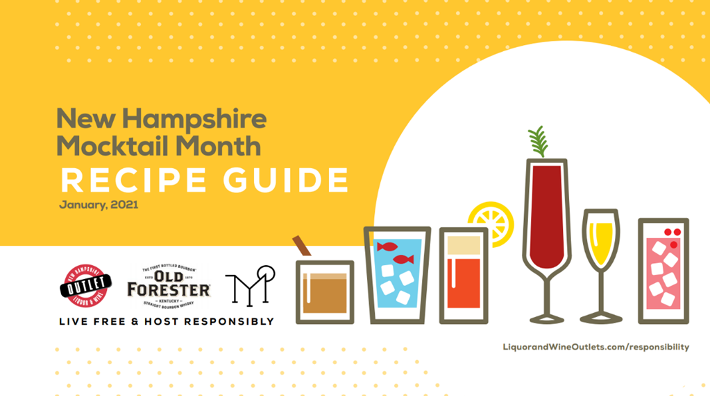 New Hampshire Mocktail Month Recipe Guide